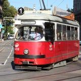 Vienna tram Stock Photos