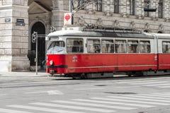 Vienna Tram Stock Photo