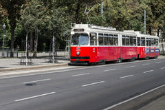 Vienna Tram Royalty Free Stock Photos
