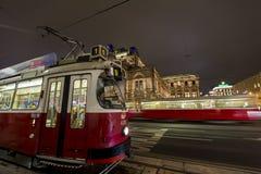 Vienna trams Stock Image