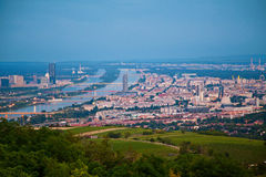 Vienna in the twilight Royalty Free Stock Photography