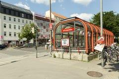 Vienna U-Bahn fotografie stock libere da diritti