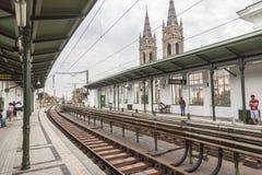 Vienna U-Bahn Royalty Free Stock Images