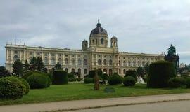 Vienna - una delle città visitate dell'Europa - Maria Theresa Monument fotografie stock libere da diritti