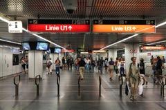 Vienna underground Royalty Free Stock Images