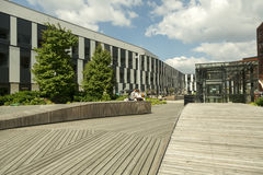 Vienna University campus Stock Photos