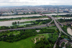 Vienna, view from above Stock Photography