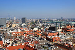Vienna view Royalty Free Stock Image
