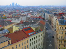 Vienna seen from above Stock Image