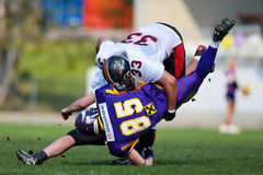 Vienna Vikings vs. Carinthian Black Lions Stock Photo