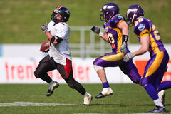 Vienna Vikings vs. Carinthian Black Lions Royalty Free Stock Photography