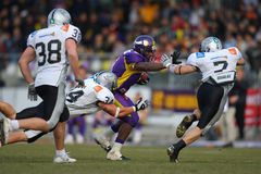 Vienna Vikings vs Tirol Raider Stock Photo
