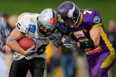 Vienna Vikings vs Tirol Raider Royalty Free Stock Photo