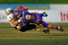 Vienna Vikings vs Tirol Raider Royalty Free Stock Photos