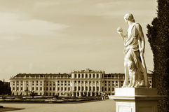 Vienna - vintage panorama Royalty Free Stock Photo