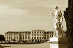 Vienna - vintage panorama royalty free stock photo