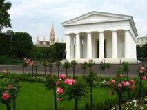 vienna volkgarten royaltyfria foton