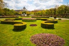 vienna volksgarten Royaltyfri Bild