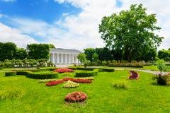 Vienna Volksgarten spring park Stock Photo