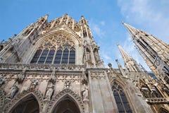 Vienna - Votivkirche neo - gothic churc Stock Image