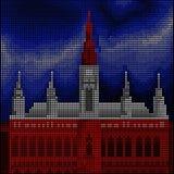 Vienna - Wiener Rathaus - Royalty Free Stock Image