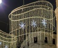 Vienne au temps de Noël images libres de droits