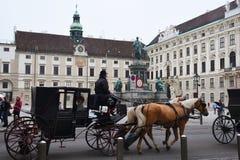 VIENNE, AUTRICHE - 29 août 2018 : le Burg de Neue, un nouveau château du Hofburg P photo stock