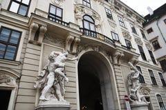 VIENNE, AUTRICHE - 29 août 2018 : le Burg de Neue, un nouveau château du Hofburg P photographie stock libre de droits