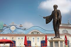 VIENNE, AUTRICHE - 17 AOÛT 2012 : Vue de statue à l'intérieur de l'en Photos stock