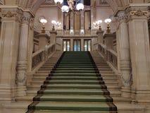 VIENNE, AUTRICHE - 25 février 2019 : Intérieur d'état Opéra de Vienne photos stock
