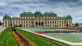 VIENNE, AUTRICHE - 16 JUILLET 2016 : Belvédère de Schloss de château photographie stock