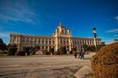 Vienne, Autriche-- Le 7 mars 2018 : extérieur du musée de l'histoire naturelle de Vienne photographie stock