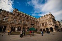 Vienne, Autriche-- Le 7 mars 2018 : L'état Opéra de Vienne image stock