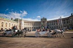 Vienne, Autriche-- Le 7 mars 2018 : Palais impérial de Vienne Hofburg image libre de droits