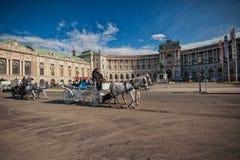 Vienne, Autriche-- Le 7 mars 2018 : Palais impérial de Vienne Hofburg images stock