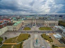 VIENNE, AUTRICHE - 7 OCTOBRE 2016 : Burg de Neue, Heldenplatz, Weltmuseum Wien, Prinz Eugen von Savoyen, musée d'Ephesos, nationa photo libre de droits