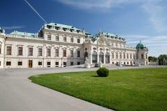 Vienne - bâtiment de palais de belvédère La vieille ville est un OE de l'UNESCO photo stock