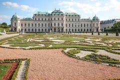 vienne Belvédère complexe de palais et de parc images libres de droits