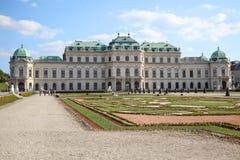 vienne Belvédère complexe de palais et de parc photographie stock
