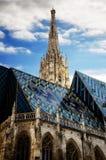 Vienne, cathédrale de Stephansdom photographie stock