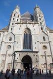 Vienne - cathédrale ou Staphensdom de St Stephen Photographie stock libre de droits