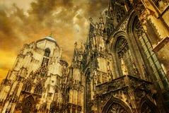 Vienne - cathédrale ou Staphensdom de St Stephen Images stock