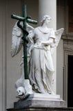 Vienne Karlskirche, détail photographie stock libre de droits
