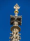 vienne l'autriche Cathédrale de rue Stephen Photos libres de droits
