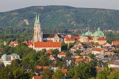 Vienne - monastère à Klosterneuburg dans le pays d'été image stock