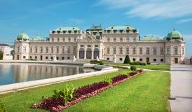 Vienne - palais de belvédère photographie stock