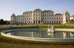 Vienne - palais de belvédère images stock