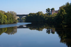 Vienne river in Limoges, France Royalty Free Stock Images