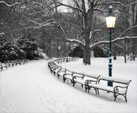 Vienne - Stadtpark en hiver photo libre de droits