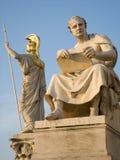 Vienne - statue de Livius de titus d'historien pour la parité photo stock